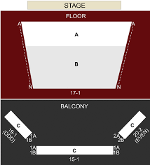 Mercury Theater Chicago Il Seating Chart Stage