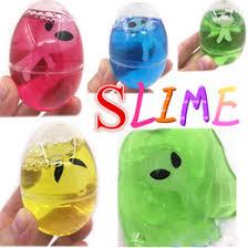 science gifts s diy egg crystal slime mud novelty magic egg tricky toy gudetama