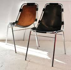 charlotte perriand les arc chairs leather chrome tubular frames for les arcs ski resort one of perriand s most iconic designs