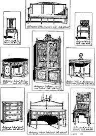 types of furniture design. classic furniture types of design