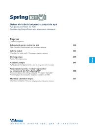 Springkit Sistem De Tubulaturi Pentru Puturi De Apa Springkit
