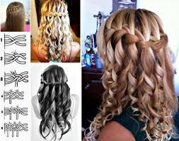 Hairstyle Waterfall how to do lovely waterfall braid hairstyle how to instructions 6525 by stevesalt.us
