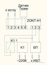 <b>ZONT</b> - H <b>Термостаты</b> для дистанционного управления котлом ...