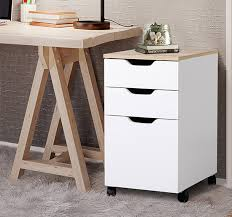 home office file storage. 3drawer rolling filing cabinet file storage organizer home office white 13x18