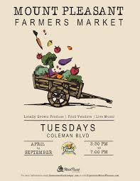 Image result for mount pleasant farmers market