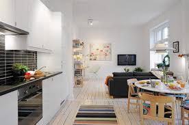 Square Living Room Black Square Coffee Table Black Floor Lamp Small Apartment Living