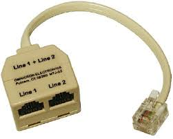 residential telephone wiring basics a two line splitter thingy