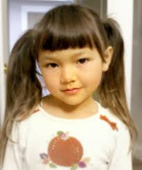 Pigtails Hair Style traditional chinese childrens hairstyle two buns on the sides 5528 by wearticles.com