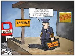 Über dieses thema berichtete ndr info am 08. Lokfuhrer Streik Von Kostas Koufogiorgos Politik Cartoon Toonpool