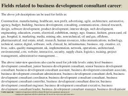 Top 10 Business Development Consultant Interview Questions And Answers