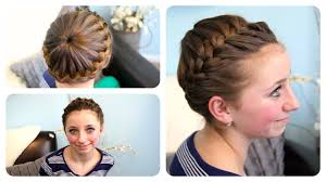 Pretty Girl Hair Style starburst crown braid updo hairstyles cute girls hairstyles 1959 by wearticles.com