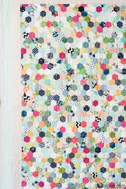 Hand Pieced Hexie Quilt - the one that took over a year - Quilty Love & epp hexie quilt ... Adamdwight.com