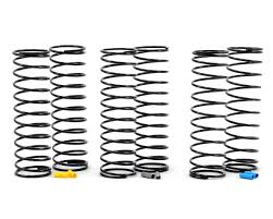 Team Associated 12mm Big Bore Rear Shock Spring Kit 3 Medium Asc91345 Cars Trucks