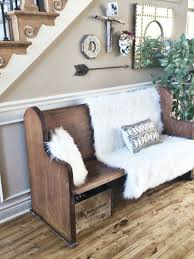 ideas for foyer furniture. Rustic Foyer Bench Ideas Church Pew Chur On Entryways With Captivating Mirrors For Furniture I