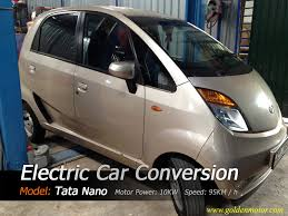 hybrid car kit electric car motor electric car conversion tata nano conversion
