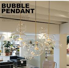 pendant glass lighting. Nordic Personality Bubble Ball Glass Pendant Lamp Hanging Light Designer Suspended Lighting Fixtures Living Room Bedroom-in Lights From