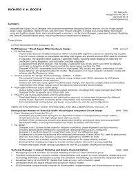 Hardware Design Engineering Sample Resume 9 Executive Hardware