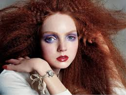 d red hair lily cole 39 s beauty look for red hair back to picture day makeup tutorial kat
