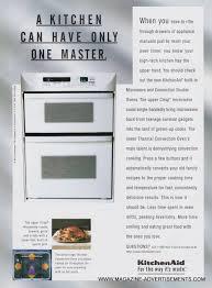 kitchenaid microwave convection oven. KitchenAid Microwave Convection Ovens 1996 Ad Kitchenaid Oven