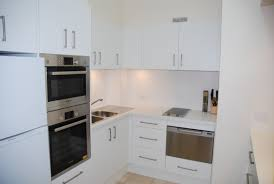 Small Size Kitchen Appliances Small Apartment Kitchen Ideas With Panel Appliances In White