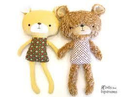 Teddy Bear Sewing Pattern Classy Teddy Bear Sewing Pattern Dolls And Daydreams