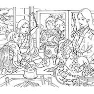 冬の塗り絵素材一覧大人の塗り絵教室無料my介護の広場