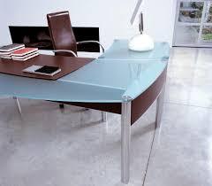 modern glass office desk. Wonderful Glass Office Furniture Modern Desk With Silinder Intended For A