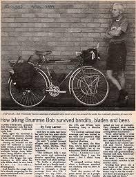 No Guts No Story': Bob the Bike (Travels on a Pushbike): Amazon.co ...