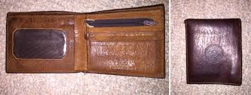 elephant leather wallet i ve had for 5 years