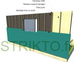 structure mur ossature bois exterieur maison bois construire