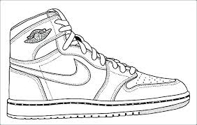 Michael Jordan Coloring Pages Air Shoes Coloring Pages Best Of
