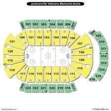 Veterans Memorial Arena Seating Chart Jacksonville Veterans Memorial Arena Seating Chart Seating