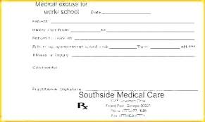 free emergency room doctors note doctors note template