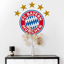 ʔɛf tseː ˈbaɪɐn ˈmʏnçn̩), fcb, bayern munich, or fc bayern. Fc Bayern Munchen Logo Originales Fcb Wandtattoo Wall Art De