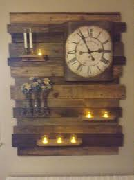pallet wood accent wall decor1