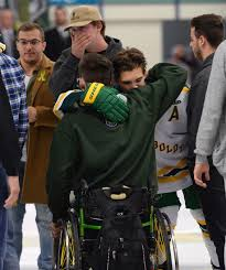Survivors of Humboldt Broncos Hockey Team Return to Ice After Crash ...