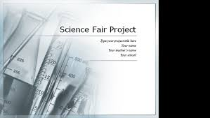 Science Fair Templates Science Project Presentation Template Scientist Science Experiments