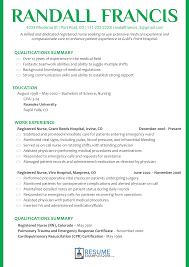 Nursing Resume Examples 2018 For Great Cv Writing