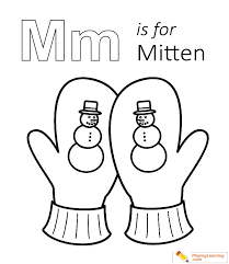 The reliable coloring page for children pages kids to color printable sheets #19664 coloring pages for kids, toddler and kindergarten. M Is For Mitten Coloring Page Free M Is For Mitten Coloring Page