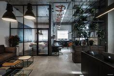 industrial style office. ØFFICE 44 - Picture Gallery #ideas #pisos #espacios #oficinas Industrial Style Office G