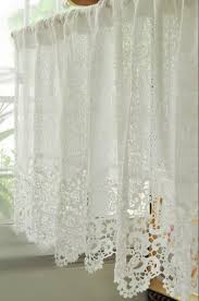 Short Curtains In Living Room Soluble Reticulocyte Lace Beautiful Coffee Curtain Short Kitchen