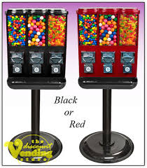 3 Head Candy Vending Machine Enchanting ONE NEW TRIO 48Head Candy Gumball Vending Machine 4848 PicClick