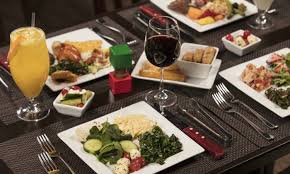 up to 40 off a full rodizio dinner with wine at rodizio grill