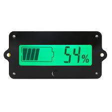 12v 24v 36v Lead Acid Li Battery Capacity Indicator Tester