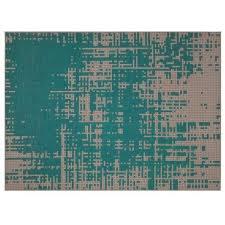 <b>Ковер</b> Gan <b>Abstract</b> зелёного цвета 80х145 — купить по цене ...