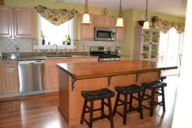 red oak butcher block countertop