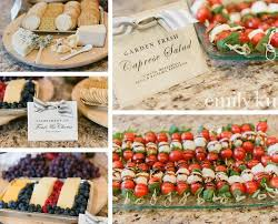 finger food recipes for kitchen tea. french themed shower food ideas · bridal finger recipes for kitchen tea
