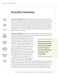 Writing Executive Summary Template Internet Marketing Strategy Implementation And Practice Executive