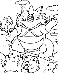Small Picture Pokemon Coloring Pages Printable Amazing Pokemon Coloring Pages