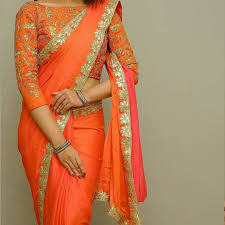 Gota Patti Saree Blouse Designs 23 Trendy Full Neck Blouse Designs Of This Year Keep Me